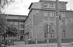 Alte-Liebig-Schule, Ansicht Georg-Speyer-Straße, um 1981. Foto: Heik