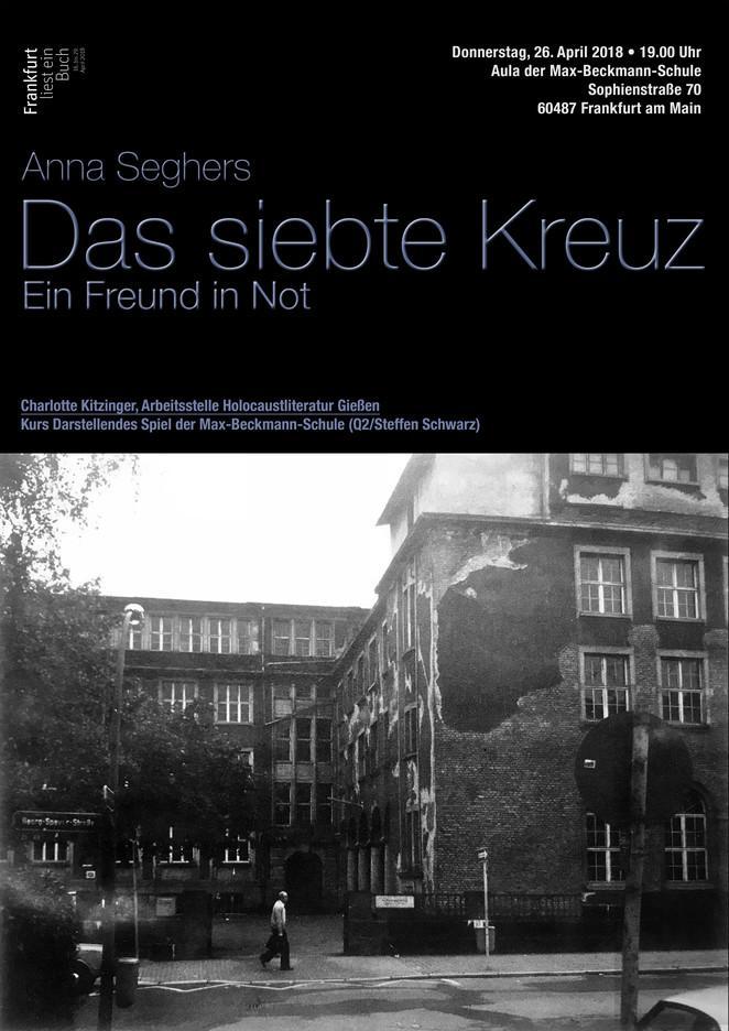 """Plakat zur Lesung """"Frankfurt liest ein Buch"""""""